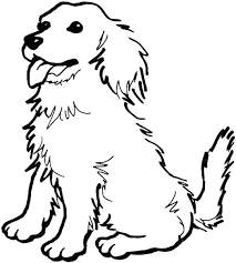 Coloring Pages Dog Cenul Free For Kids Cat And