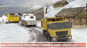 Euro Snow Dump Truck Driver 1.1 APK Download - Android Simulation Games