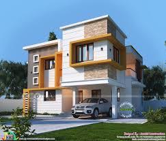 100 Villa House Design 2280 Space Saving Duplex Villa Plan Plan