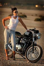 We Want To See More Girls On Motorcycles Carpys Cafe Racers