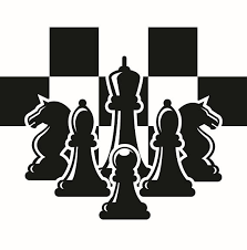 Chess Logo 2 Chessboard Pieces Setup Board Game Strategy Player Club Competition FIDE Master SVG EPS Clipart Vector Cricut Cut Cutting From ExpertOutfit