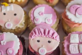 cupcake dekoration baby