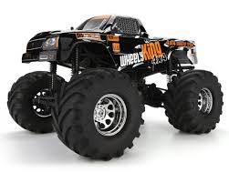 100 4x4 Truck Tires HPI Wheely King 4WD RTR Monster HPI106173 Cars S