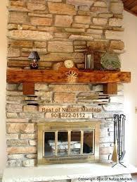 Rustic Mantels Wood Mantel Ideas Rustic Fireplace Log Mantel Log
