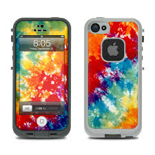 Lifeproof iPhone 5 Case Skin Tie Dyed by Retro