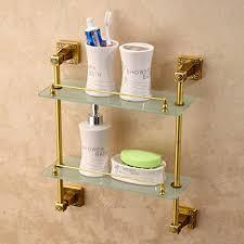 zxqz badezimmer glasregal küche storage rack wohnzimmer