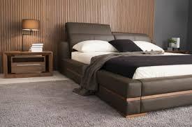 lit de chambre choisissez un lit en cuir pour bien meubler la chambre à coucher