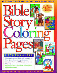 Bible Story Coloring Pages 1 Books Gospel Light 9780830718696 Amazon