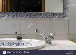 waschbecken reflektoren detail bad badezimmer nasszelle