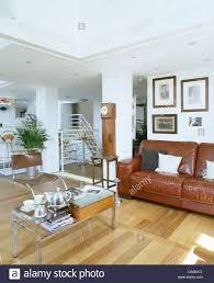 100 Split Level Living Room Ideas Art Deco Tea Set On Small Glass Table In Split Level Living