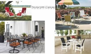 Telescope Patio Furniture Dealers by What We Sell