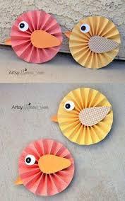 How To Make Paper Rosette Birds