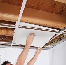 comment installer un plafond suspendu en é décoration et