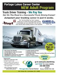NEW ADULT PROGRAM] Truck Driver Training - Portage Lakes Career Center Ohio Drivers Ed Directory American Trucking Associations Takes An Indepth Review Into The Schneider Truck Driving Schools Cdl Beast Class A Traing And School Information Private Program Prime News Inc Truck Driving School Job Jtl Driver New Adult Program Portage Lakes Career Center In 157 Best Bus Big Ccinnatihamilton County Community Action Agency What We Do
