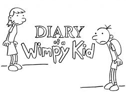 Diary Of A Wimpy Kid Coloring Page Home Pages Pdf Pictures Educations