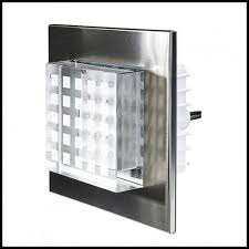 led step and wall light 12v low voltage stainless steel