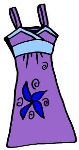 Dress Clip Art 4