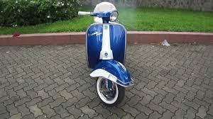 Classic Vespa VBC 150cc In Blue White