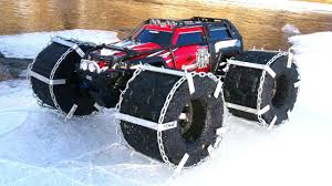 RC ADVENTURES - FLOATiNG TRAXXAS SUMMiT - ICE Chains & Floating RC ... Everybodys Scalin For The Weekend How Does Summit Fit In Traxxas Summit Large S Dome Light With Shade 3w Four Lights Used Proline Readying New Ram 1500 Body Tmaxx Revo Savage Rc Adventures The Reaper Dual Motor Mega Traxxas Buy Traxxas Summit Wheel And Get Free Shipping On Aliexpresscom 110 Txrxlipo 350 Groups Custom Candy Purple Pear White Chrome Gmc Proline Topkick 4wd Rtr Tqi Automodelis Hobby Pro Now Pay Later Truck My Scale Search Rescue Creation Sar