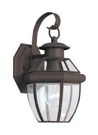 8037 71 one light outdoor wall lantern antique bronze