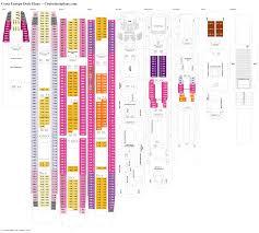 Azamara Journey Deck Plan 2017 by Costa Europa Deck Plans Diagrams Pictures Video