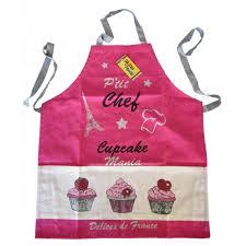 tablier de cuisine enfant tablier de cuisine enfant cupcake p chef provence