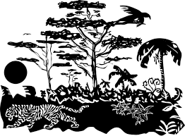 The Living Jungle Icons PNG