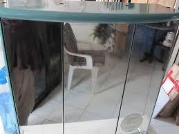 decotec badezimmer spiegelschrank glänzend calypso dreitürig