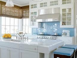 light blue backsplash tile home design ideas