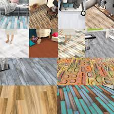Image Is Loading Self Adhesive Wood Grain Floor Stickers PVC Bedroom