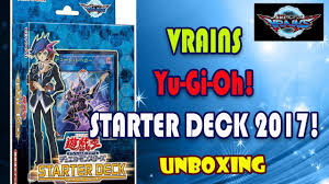 yu gi oh yugioh vrains starter deck 2017 unboxing and opening