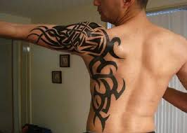 Women May Go For Tribal Tattoo Designs On The Lower Part Of Tummy Back Shoulder Side Torso In A Way That Is Pretty And