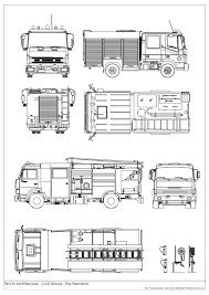 99 How To Draw A Fire Truck Step By Step 13 Cad Drawing Fire Truck For Free Download On Yoqqorg