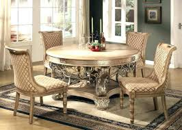 Round Formal Dining Room Tables And Chairs Antique White Table Sets Glass