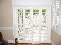 Patio Door Window Treatments Ideas by Patio Doors Patio Door Shutters Home Depot Sliding Glass Window