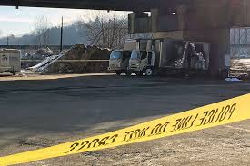 100 Bangor Truck BREAKING Two Bodies Found In Burning Delivery In