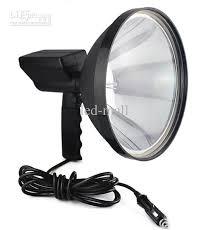 portable spotlight 55w hid 9inch handheld spotlight headl for