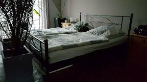 schlafzimmer landscape kiefer massiv metallbett spiegel