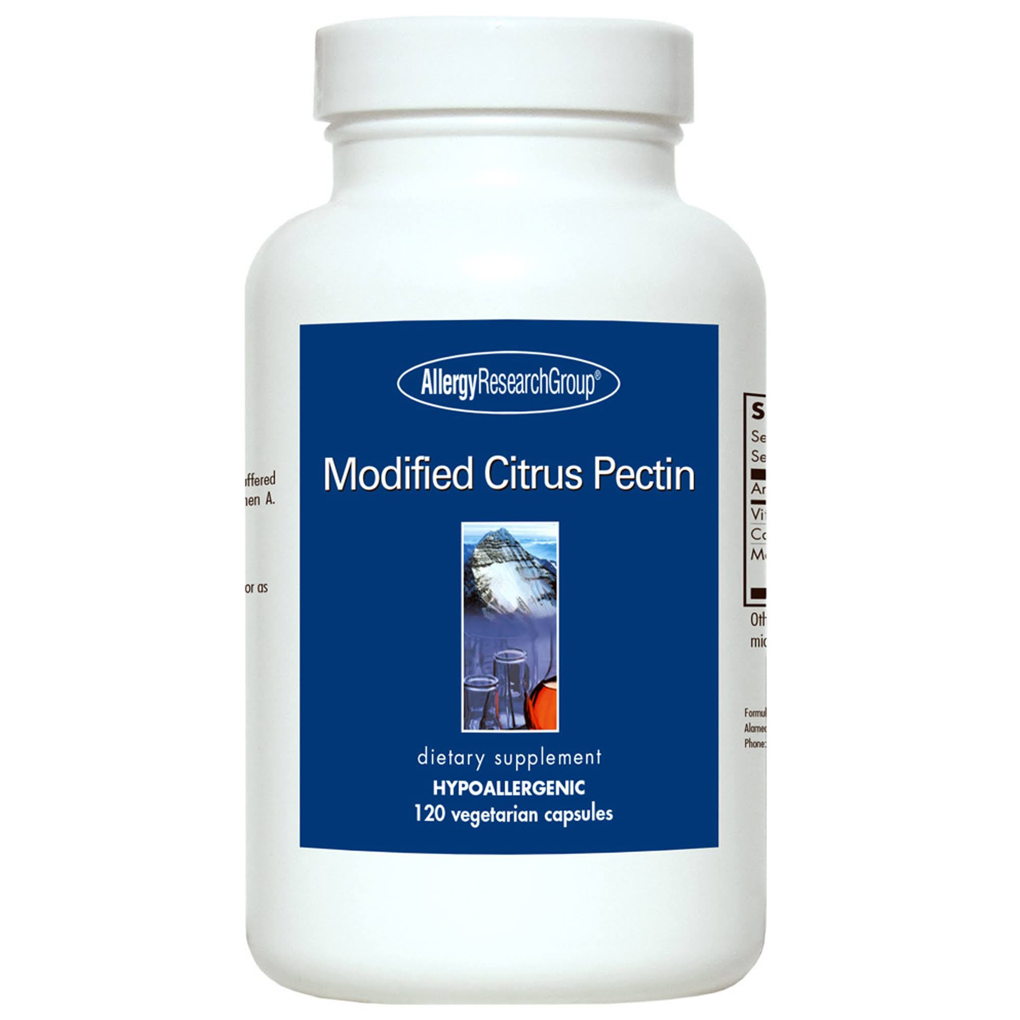 Allergy Research Group Modified Citrus Pectin Capsules - 120ct