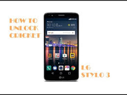 HOW TO UNLOCK LG STYLO 3 FROM CRICKET OR ANY NETWORK VISIT