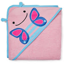 Skip Hop ZOO Hooded Towel Butterfly