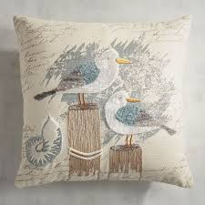 Pier One Outdoor Throw Pillows seagulls on the pier pillow pier 1 imports