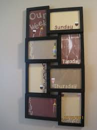 I Made The Dry Erase Board With Walmart 1000 Frame Wine Themed For My Kitchen ThemesWine