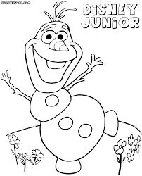 Disney Jr Coloring Pages Free Printable