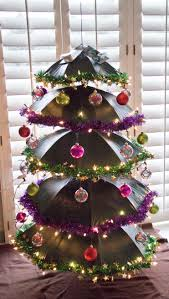 Umbrella Christmas Tree