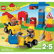 LEGO DUPLO My First Construction Site - Walmart.com Lego Dump Truck And Excavator Toy Playset For Children Duplo We Liked Garbage Truck 60118 So Much We Had To Get Amazoncom Lego Legoville Garbage 5637 Toys Games Large Playground Brick Box Big Dreams Duplo Disney Pixar Story 3 Set 5691 Alien Search Results Shop Trucks Bulldozer Building Blocks Review Youtube Tow 6146 Ville 2009 Bricksfirst My First Cstruction Site Walmartcom 10816 Cars At John Lewis