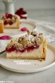 rhabarber schmandkuchen âtisserie