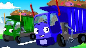 100 Garbage Truck Videos For Children Wheels On The Nursery Rhymes Kids