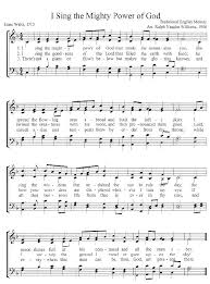This Website Has A Hymn Of The Week With Audio Sheet Music And Info