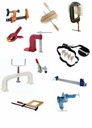 All Types Of Woodworking Clamps